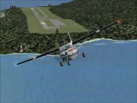 Shelter Cove Airport Scenery.