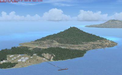 St. Eustatius Scenery.