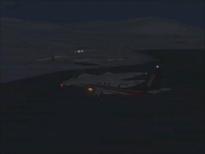 Svalbard/Spitzbergen Airports Scenery.