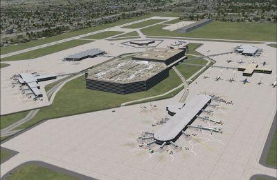 Tampa International Airport Scenery.