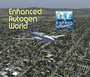 Team GEX Enhanced Autogen World Scenery for FSX