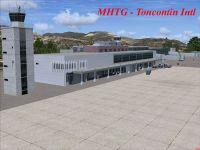 Toncontin Int'l Airport Scenery.