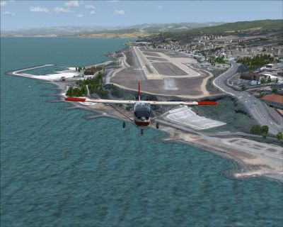 Trabzon Airfield Scenery.