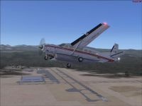 Truckee-Tahoe Airport Scenery.