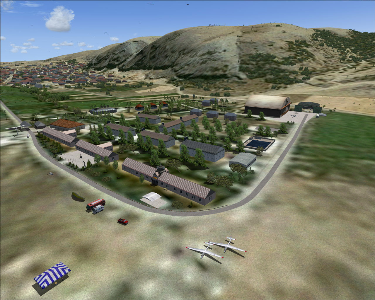 Eskisehir Turkey  City pictures : Turkey Eskisehir Inonu Airfield Scenery for FSX
