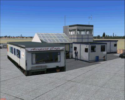 Turweston Aerodrome Scenery.