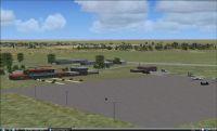 Upington Airport Scenery.
