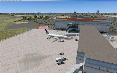 V4.2 McAllen Miller Int'l Airport Scenery.
