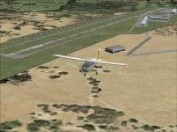Watts-Woodland Airport Scenery.