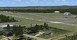 Westfield-Barnes Airport Scenery.
