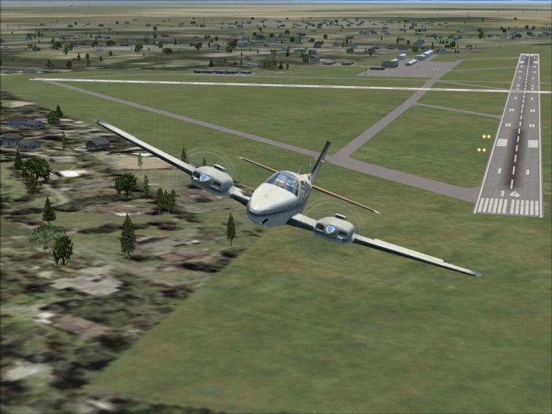 CA Yuba County Airport Scenery for FSX