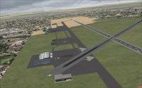 Accra Airport Scenery.