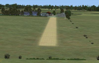 Screenshot of Priory Farm Runway.