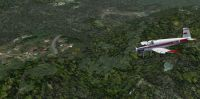 """Aerial view of """"Amazonia Air"""" Scenery."""