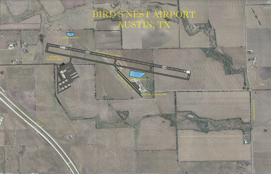 Austin Executive Airport - Airports - 6012 Aviation Dr ...