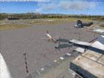 Screenshot of Biarritz Airport.