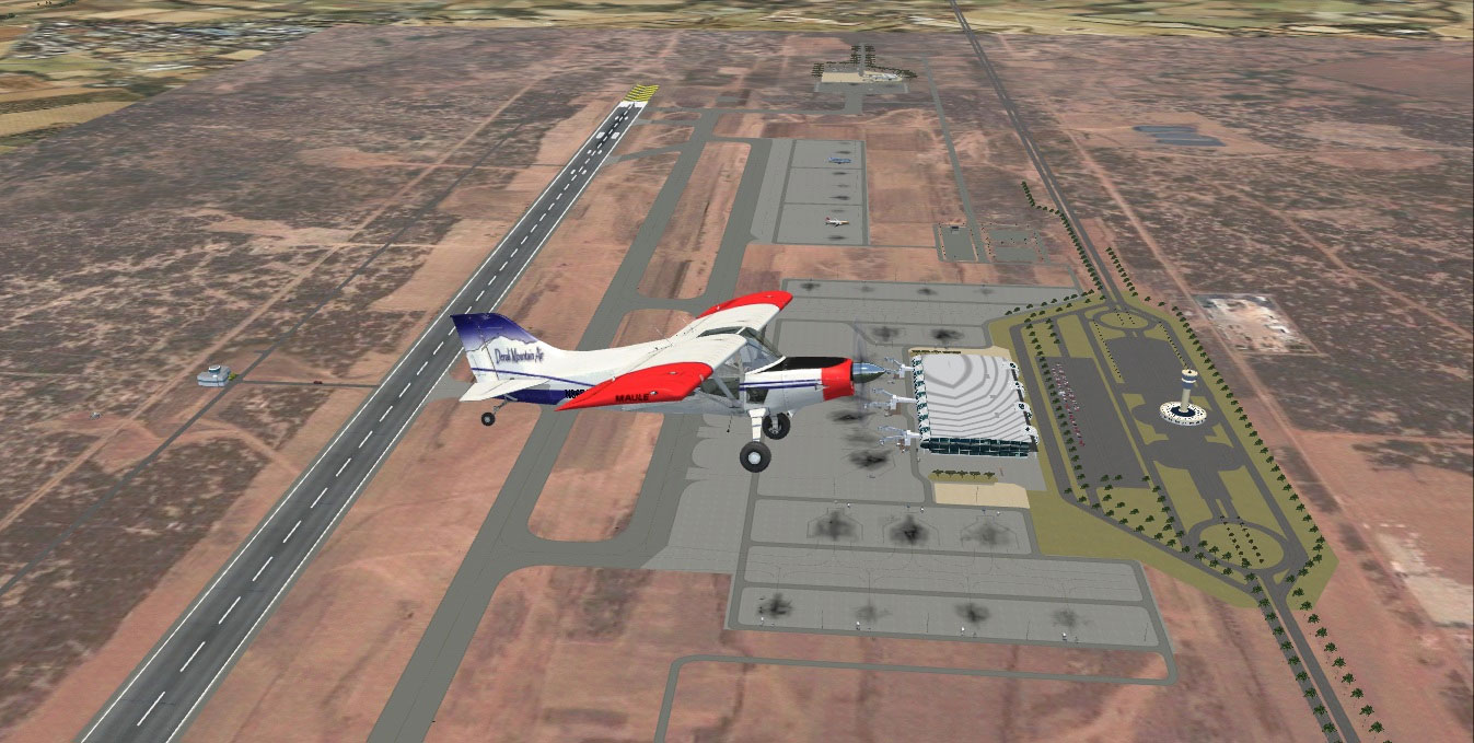 Blaise Diagne International Airport Scenery for FSX