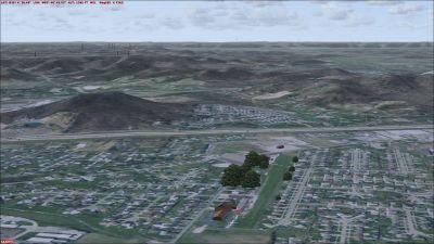 Screenshot of Blue Lick Airport Scenery.