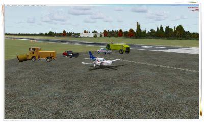 CYRC - Chicoutimi Airport Scenery.