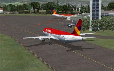 Camilo Daza International Airport Scenery.