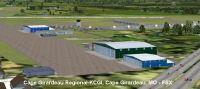 Screenshot of Cape Girardeau Regional Airport Scenery.