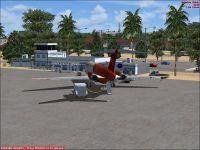Carupano Airport Scenery.