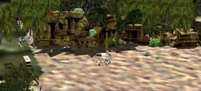 "Chapter 3 ""The Temple of Afrik-Trem"" Scenery."