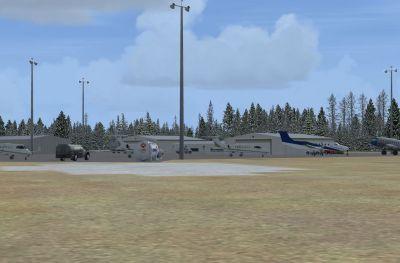 Charlottetown Airport Scenery.