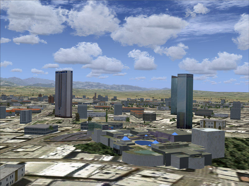 City Of Taichung Taiwan Scenery For Fsx