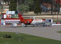 Ciuadad Bolivar Airport Scenery.