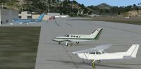 Cyril E. King Airport Scenery.
