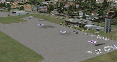 El Vigia Airport Scenery.