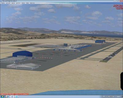 Screenshot of Eleftherios Venizelos Airport.