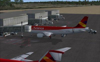 Ernesto Cortissoz Airport Scenery.