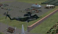 Screenshot of fictional Airbase in Canada.