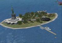 Fictional Statue Of Liberty Scenery.