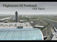 Screenshot of FlightZone02 Portland Scenery.