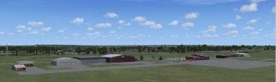 Gatineau Airport Scenery.