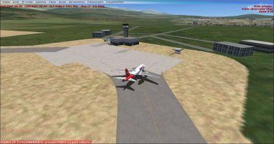General Alvarado Airport Scenery.