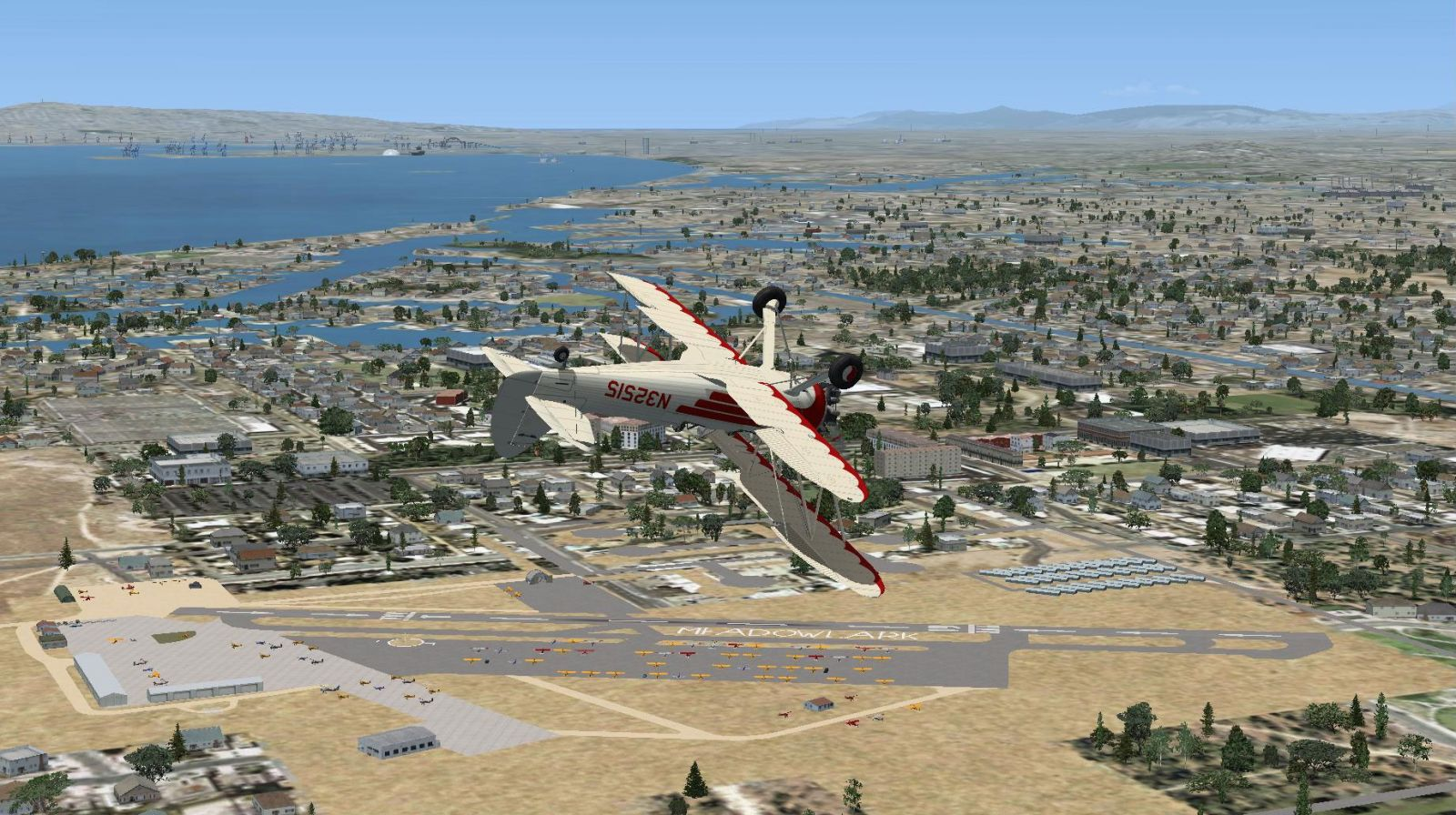 Ghost Airport Collection California Scenery For FSX - California airports