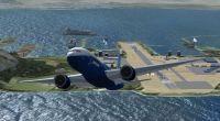 Gibraltar Airport Scenery.