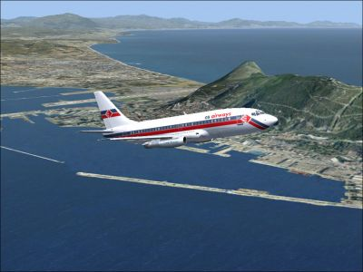 Gibraltar Scenery.