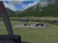 Screenshot of Gloriavale Airport Scenery.