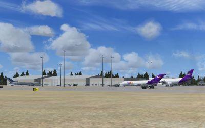 Halifax Int'l Airport Scenery.