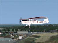 Hamble Airfield Scenery.
