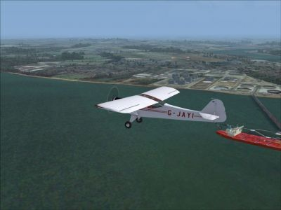 Hamble Airfield Scenery.