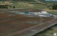 Harrismith Airfield Scenery.