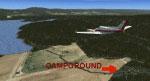 Henrys Lake Airport Scenery.