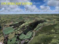 Screenshot of Hergest Ridge Scenery.