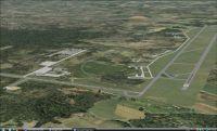 Aerial view of Hoedspruit AFB Scenery.